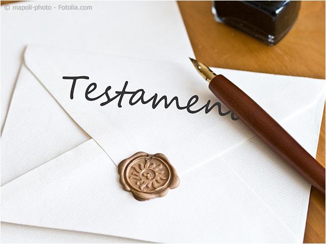 Testament Verfassen Testament Erbende