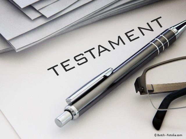 Testament Muster Testament Richtig Verfassen Testament Erbende